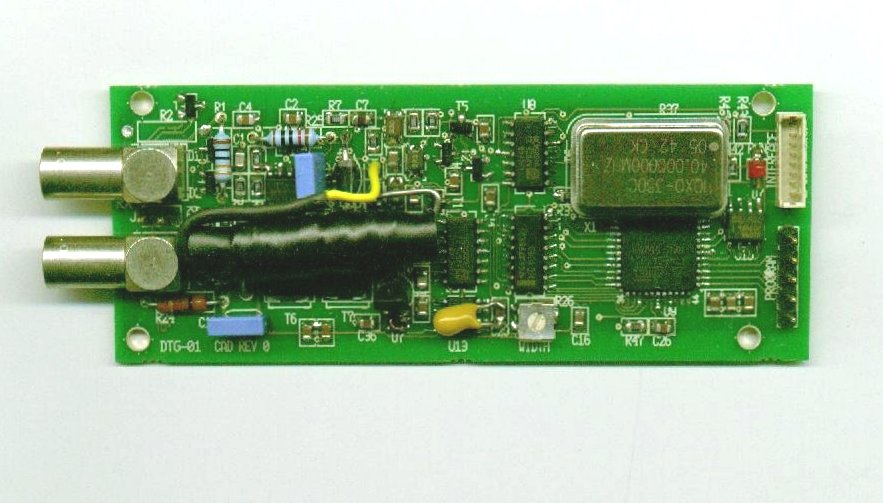 miniature ultrasonic pulser_receiver with TOF output